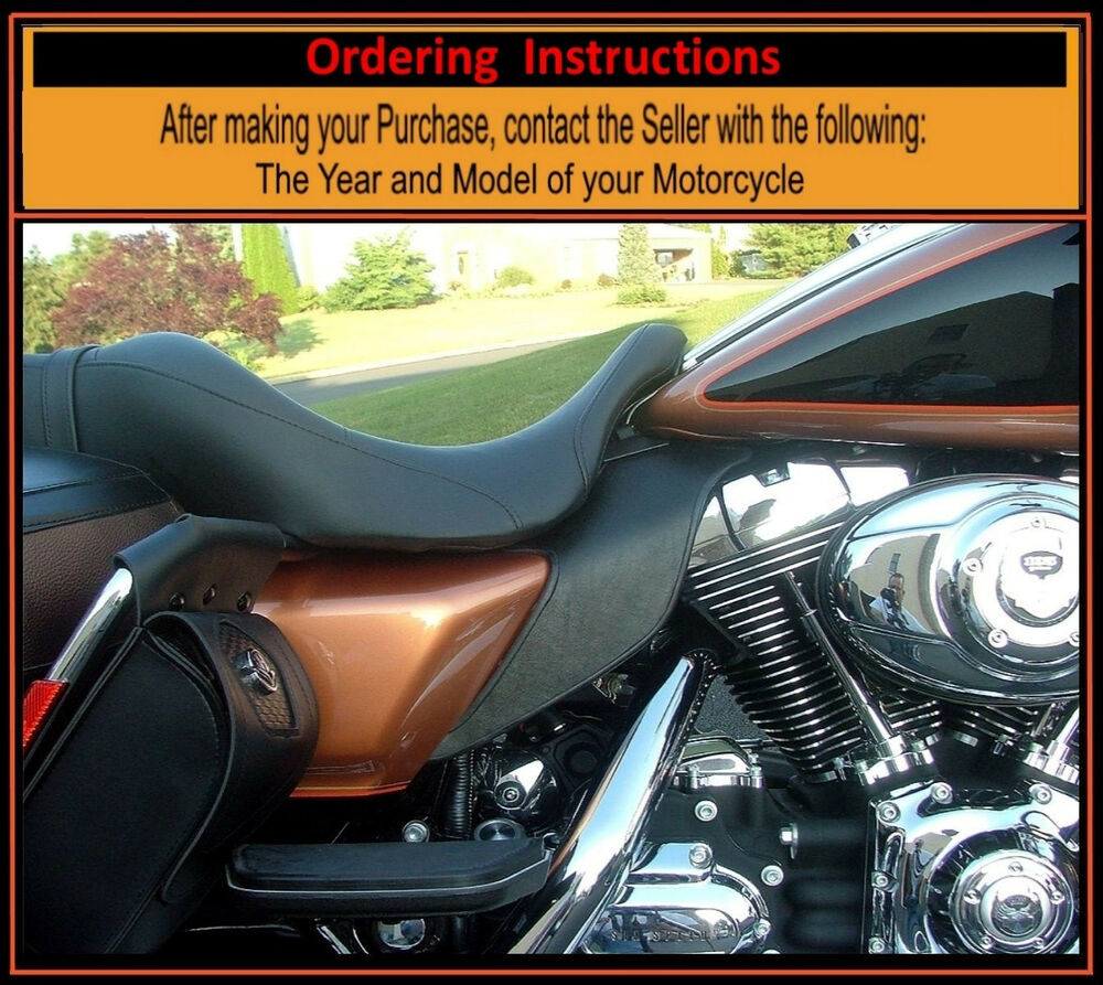 Harley Saddle Shield Touring Tri Glide Mid Frame Heat Air