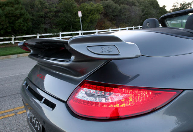 porsche 997 gt3 style trunk wing spoiler for 997 carrera coupe cabriolet ebay. Black Bedroom Furniture Sets. Home Design Ideas
