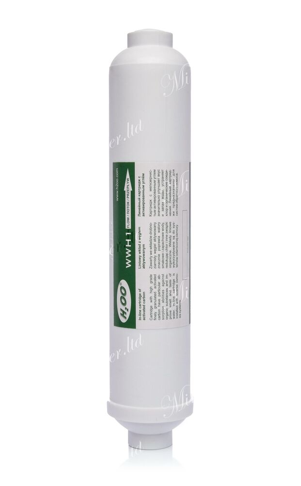 Inline Activated Carbon Aicro Wwh1 Water Filter Reverse