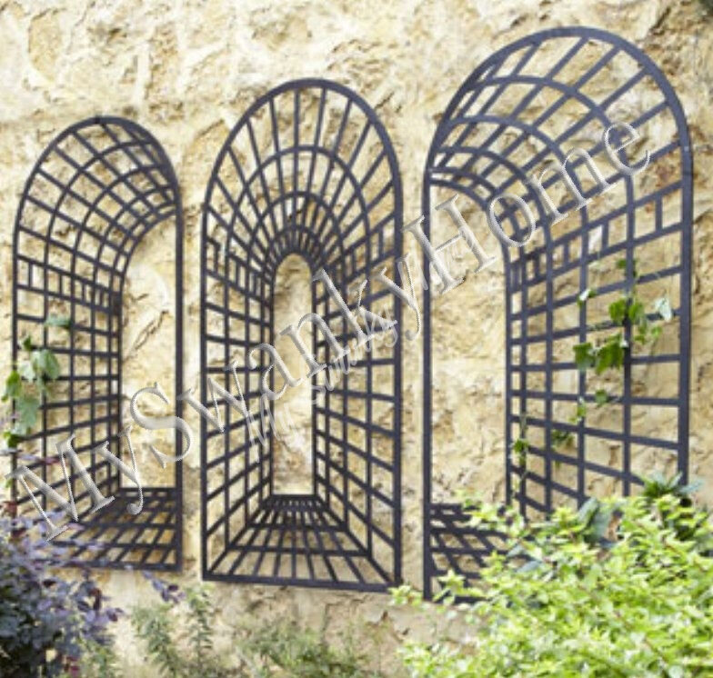 Xl Three Piece Garden Arch Wall Decor Horchow Neiman
