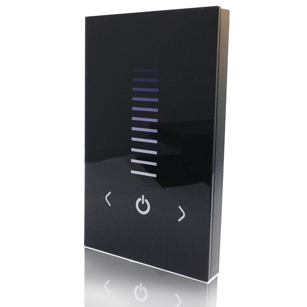 Us Standard Touch Screen Led Dimmer Switch For Single