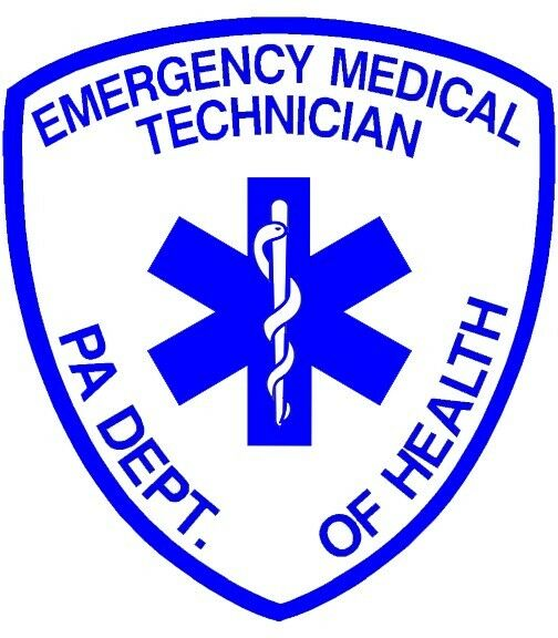 PENNSYLVANIA (PA) STATE CERTIFIED EMT REFLECTIVE DECAL | eBay
