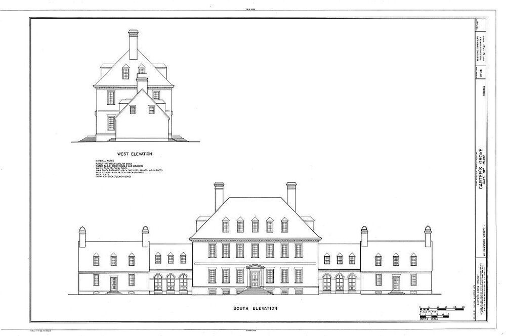 Carter 39 S Grove Plantation Architectural Home Plans