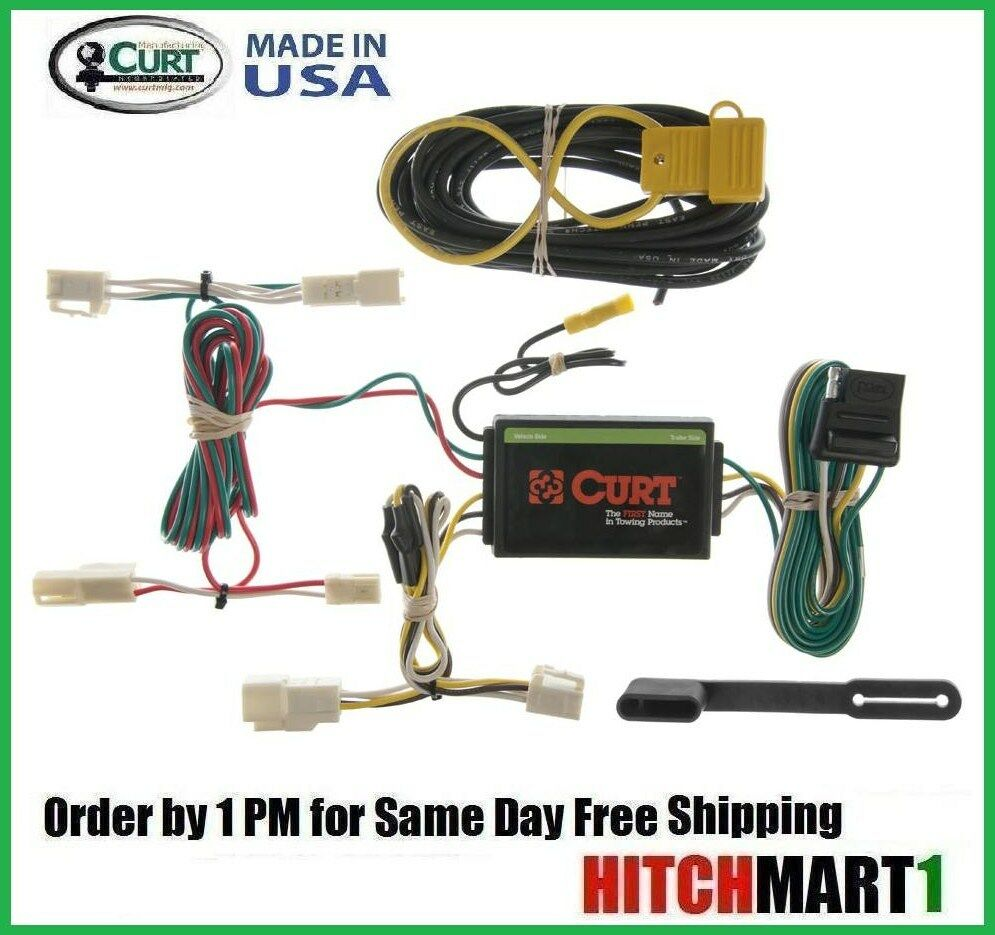4 Wire Trailer Hitch Wiring Best Secret Diagram Curt Harness Troubleshooting Get Free Image About 6