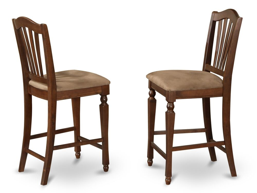 Set of 4 kitchen counter height bar stool chairs  : s l1000 from www.ebay.com size 1000 x 750 jpeg 57kB