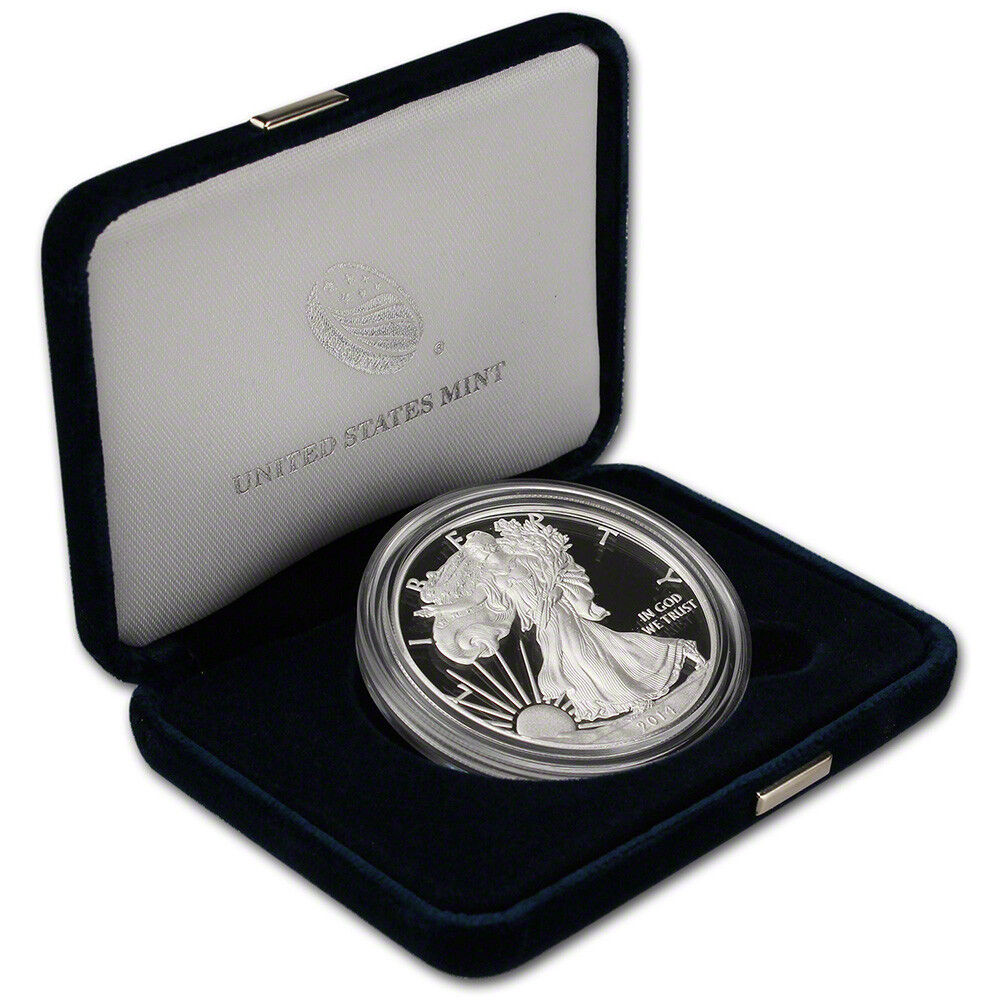 2014 American Eagle One Ounce Silver Proof Ebay