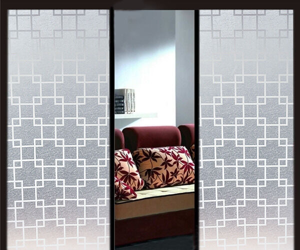 "35""x 12ft Glass Window Film Privacy Decorative Frosted ..."
