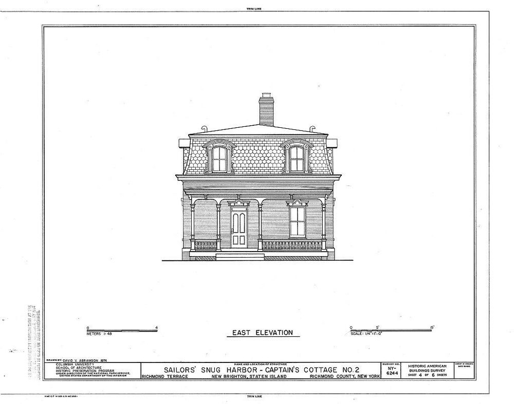Victorian Brick Cottage With Porches And Dormers