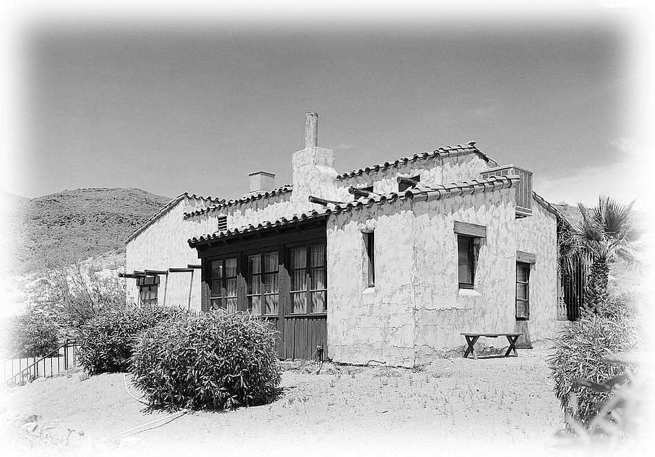Southwestern Style Cottage Plans Small Adobe Home