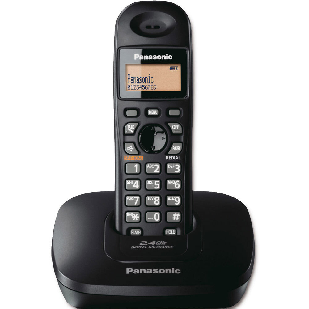 ***NEW*** PANASONIC KX-TG3611BX 2.4 GHz Digital Cordless ...