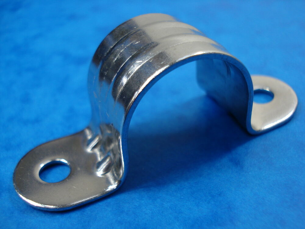 Stainless Steel Aisi 316 Top Clip Clamp 25mm Pipe Cable