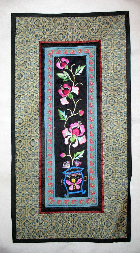 Floral Tapestry Wall