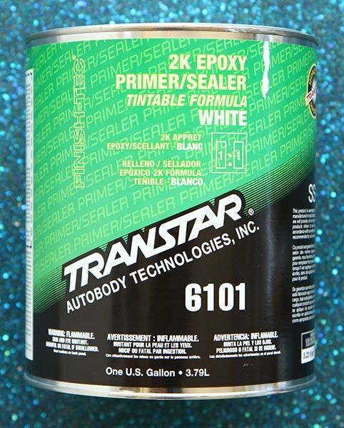 transtar 2k epoxy white primer sealer 6101 gallon ebay. Black Bedroom Furniture Sets. Home Design Ideas
