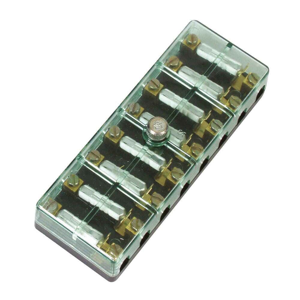 Lma Continental Fuse Box With Cover  Screw Terminals With