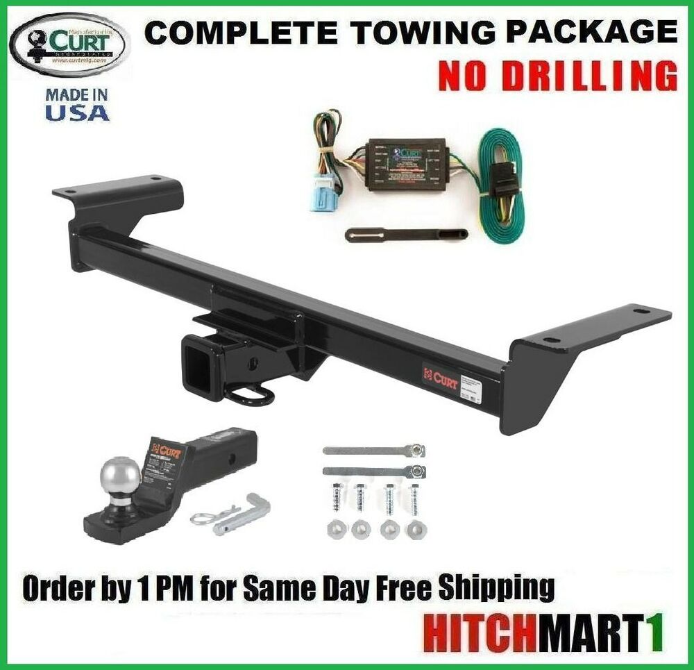fits 2007 2009 chevy equinox curt trailer hitch wiring 2: 2007-2009  acura rdx