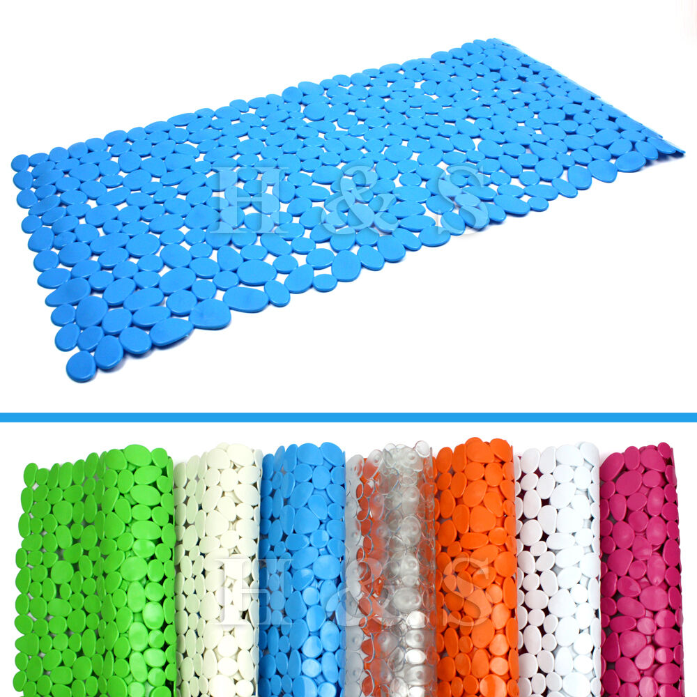 High Quality Large Strong Suction Anti Non Slip Bath Shower Mat Pebble EBay