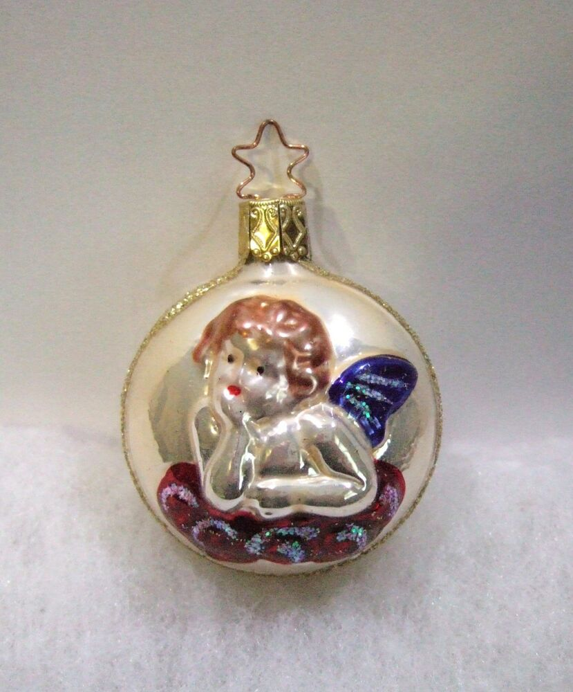 Old world christmas inge glass ornament heavenly dreams