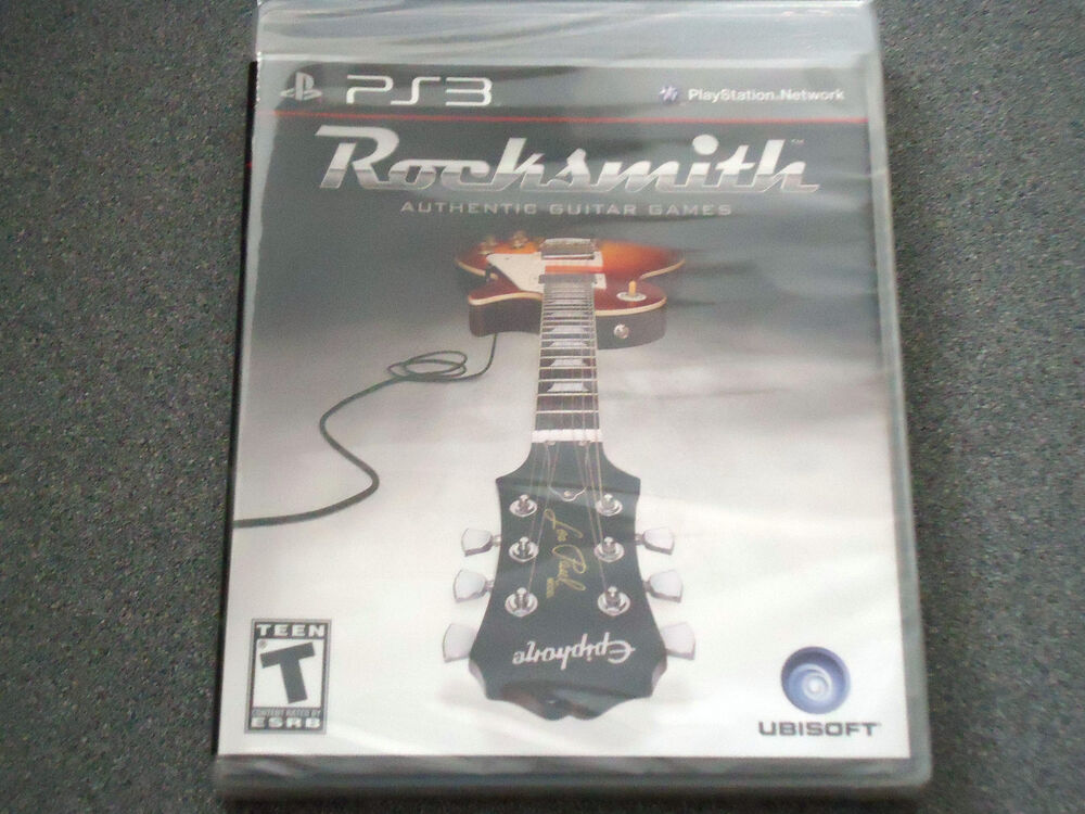 Games For Ps3 Only : Rocksmith game playstation ps only no cord or