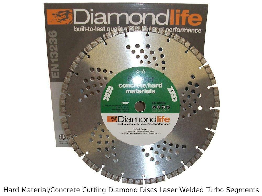 Concrete Hard Materials Cutting Disc Laser Welded Diamond