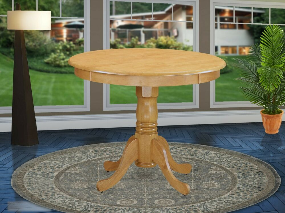 36 Quot Antique Round Dinette Kitchen Dining Table Without
