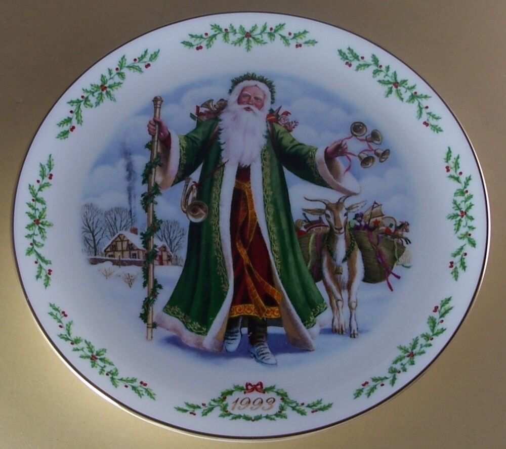 Victorian Christmas Decorations Shop Collectibles Online Daily: Lenox FATHER CHRISTMAS International Victorian Santas