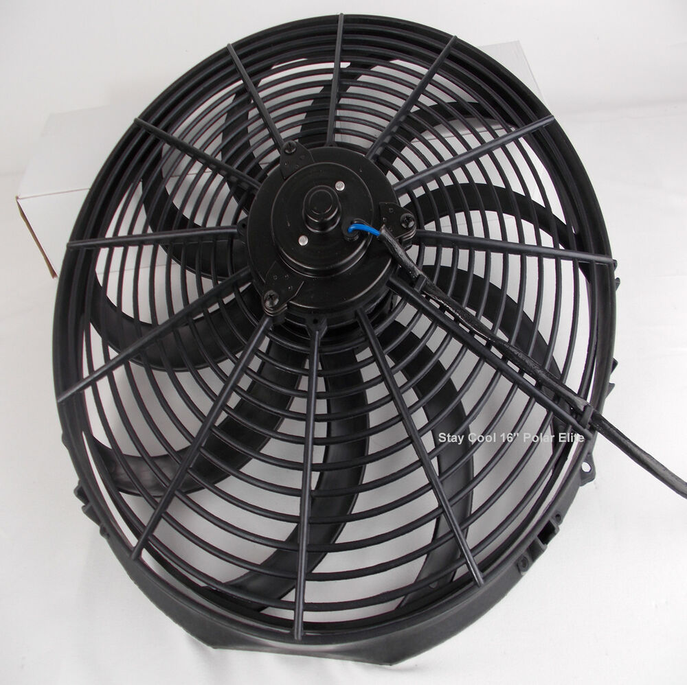 Radiator Cooling Fans : Monster cooling inch radiator fan powerful electric s