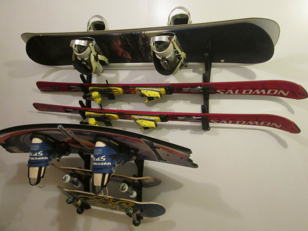 Ski Snowboard Skateboard Wakeboard Sport Storage Display