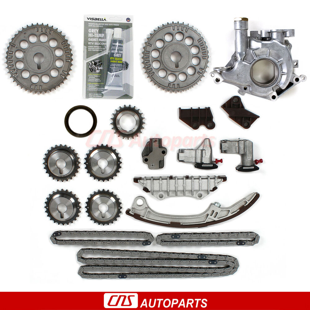 Timing Chain Kit W Oil Pump For 95 01 Nissan Maxima
