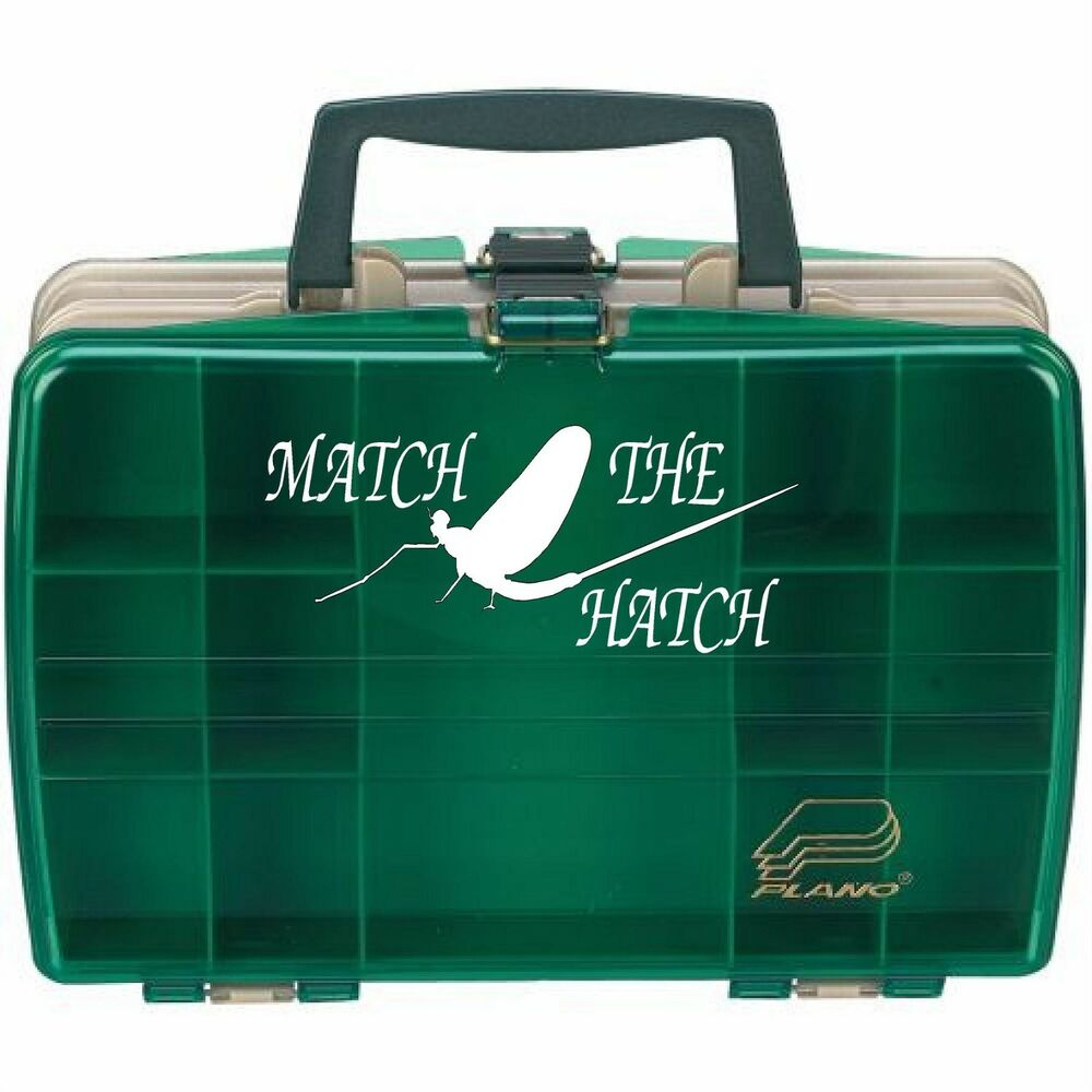Match the hatch fly fishing decal ebay for Hatch fly fishing