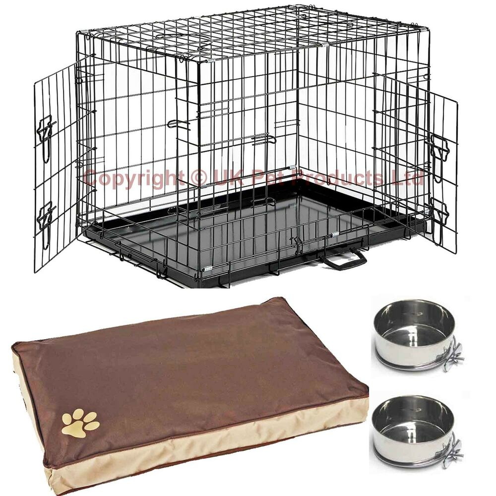 Dog cages crates small medium large extra large xxl add for Bedside dog crate