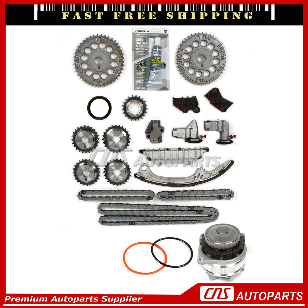 Timing Chain Kit W Water Pump For 95 01 Nissan Maxima