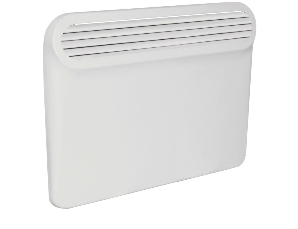 Wall Mount Heater With Thermostat : Electric panel heater wall mounted day timer thermostat