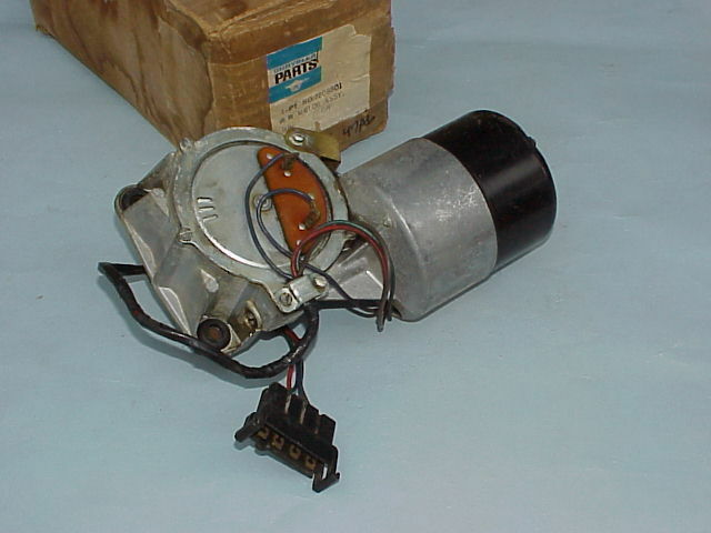 1966 1967 nos mopar wiper motor barracuda dart satellite for Mopar wiper motor restoration