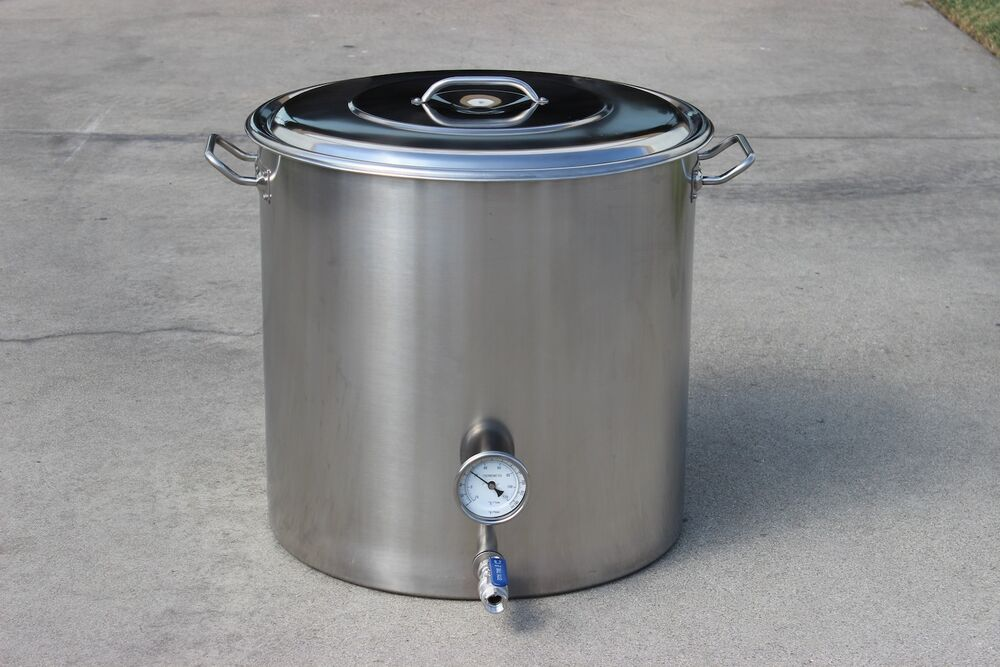Concord Custom 100 Qt Beer Brew Kettle Stainless Steel