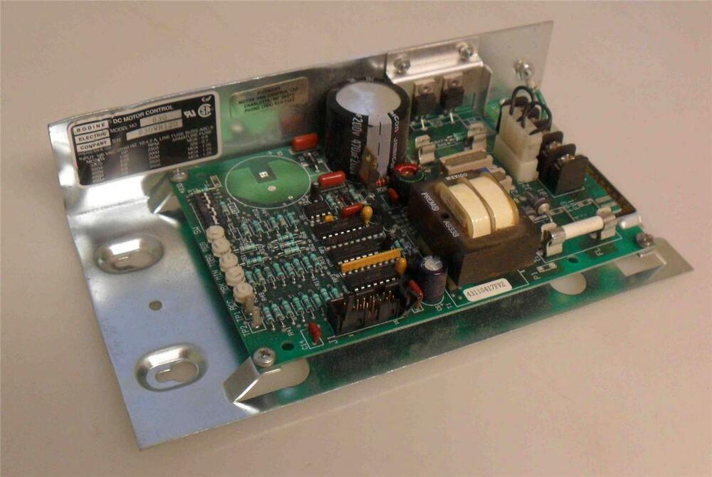 Bodine Model 830 Dc Motor Speed Control Circuit Board