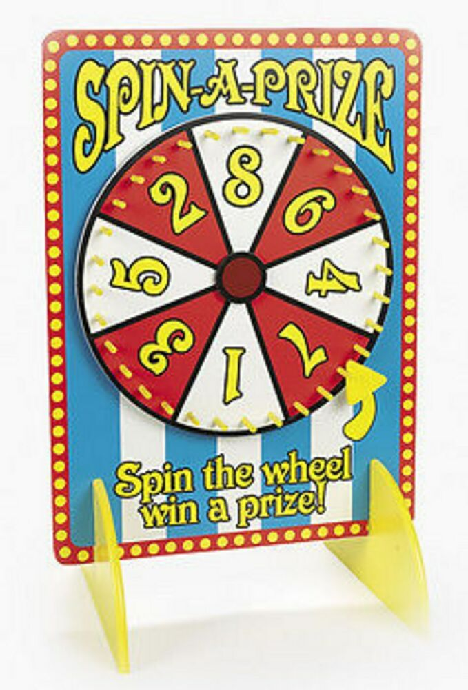 wooden spin the wheel win a prize spin win party game ebay. Black Bedroom Furniture Sets. Home Design Ideas