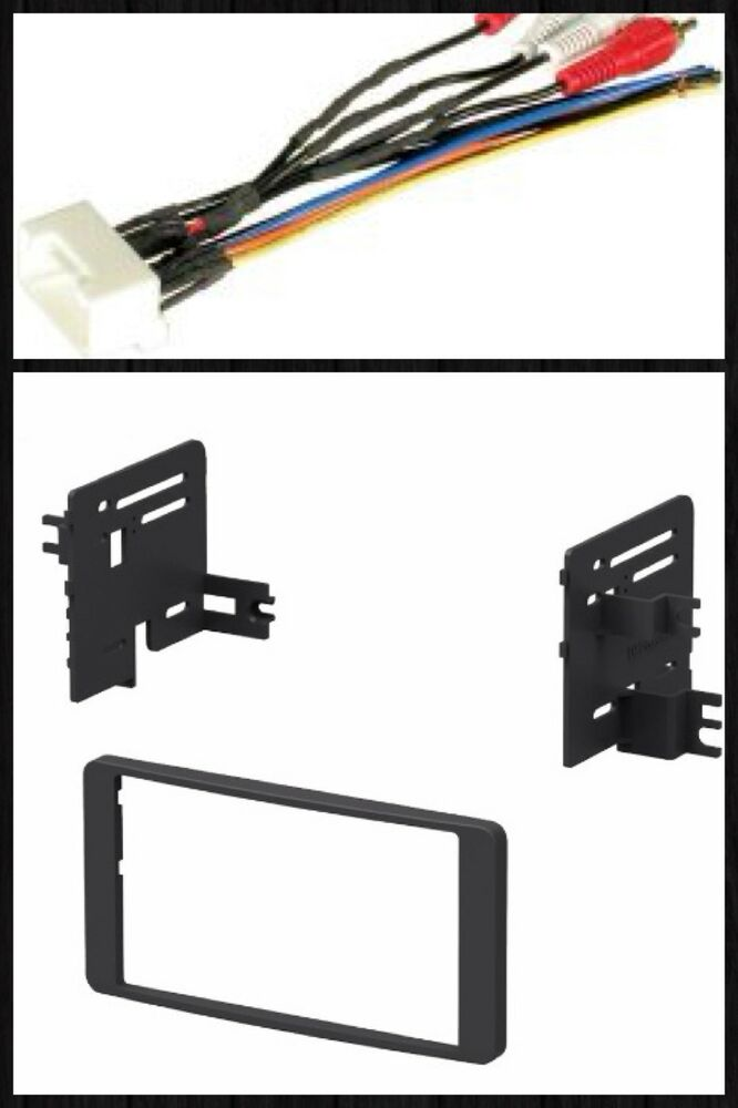 Double Din Stereo Radio Install Dash Trim Car Kit Wire