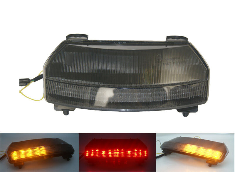 Tail Brake Turn Signals Integrated Light Smoke For 2010