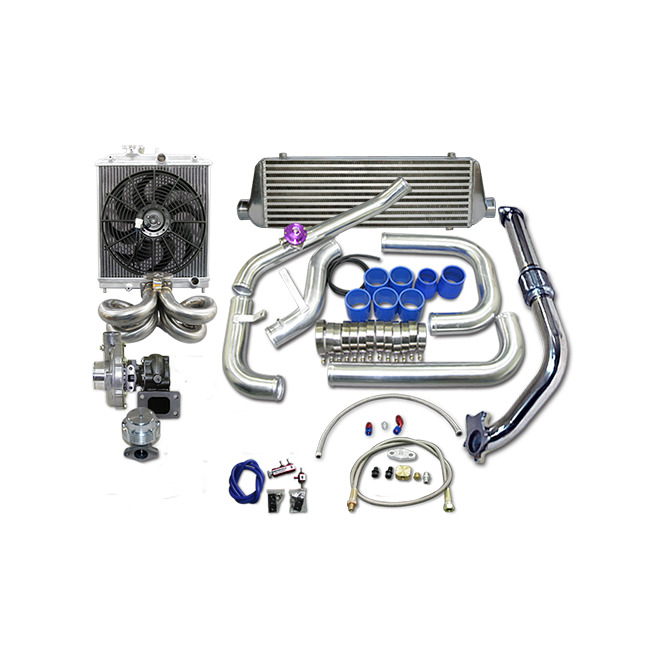 CXRACING Turbo Intercooler Kit For 1988-2000 Honda Civic