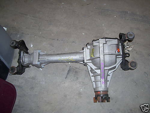 new gm front axle 2004 2012 colorado canyon oem ebay. Black Bedroom Furniture Sets. Home Design Ideas