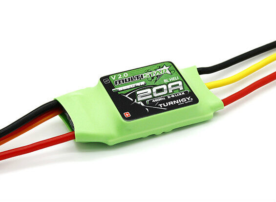 New Turnigy Multistar 20 Amp 20a V2 Multi Rotor Brushless