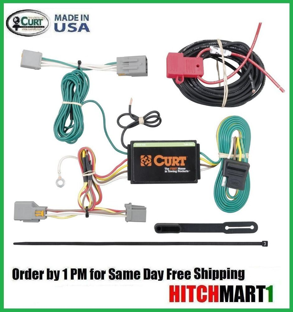 fits 2014 ford transit connect curt trailer hitch tow ... ford trailer plug wiring diagram 7 way 2014 ford trailer plug wiring