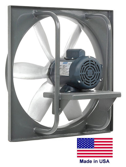 48 Direct Drive Exhaust Fans : Exhaust fan industrial direct drive quot hp