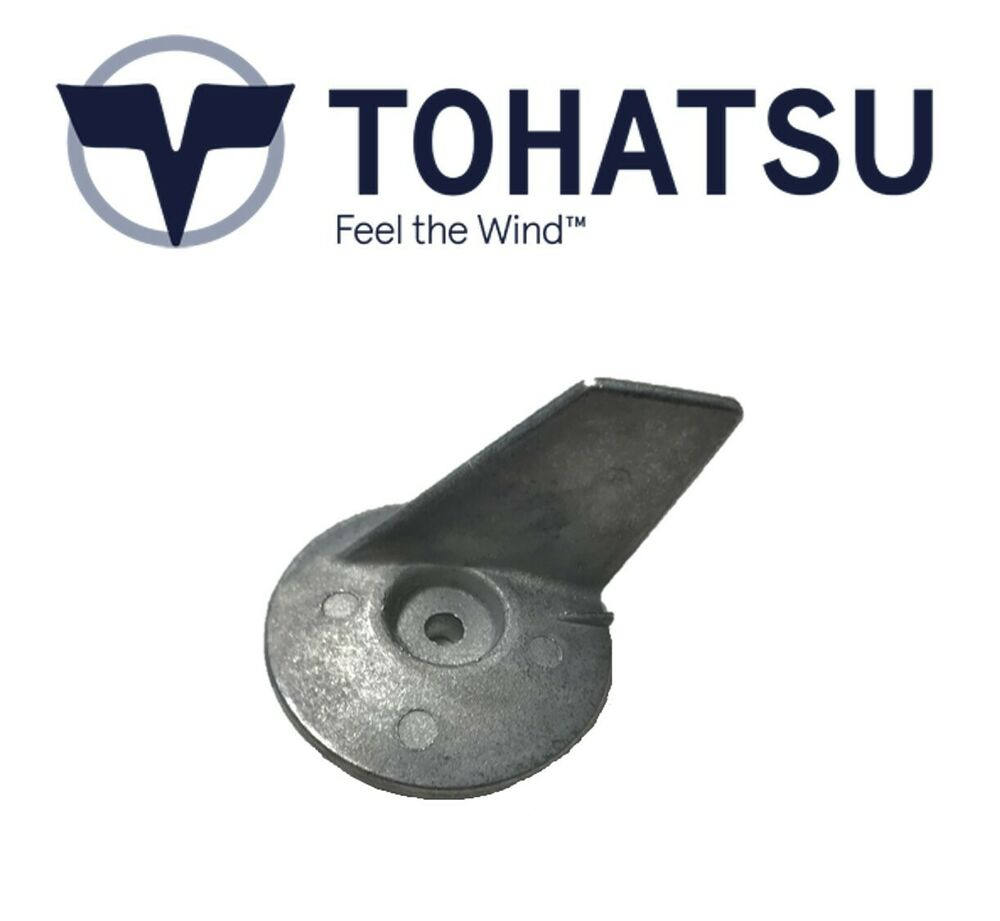 Tohatsu outboard trim tab anode 25 30 40 50hp 3c8 60217 for Outboard motor trim tab