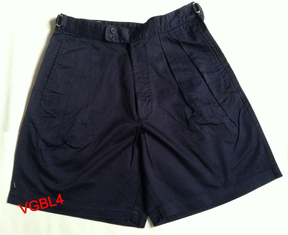 murphy and nye mens sailmakers shorts navy blue bnwt 32 inch or 34 inch ebay. Black Bedroom Furniture Sets. Home Design Ideas