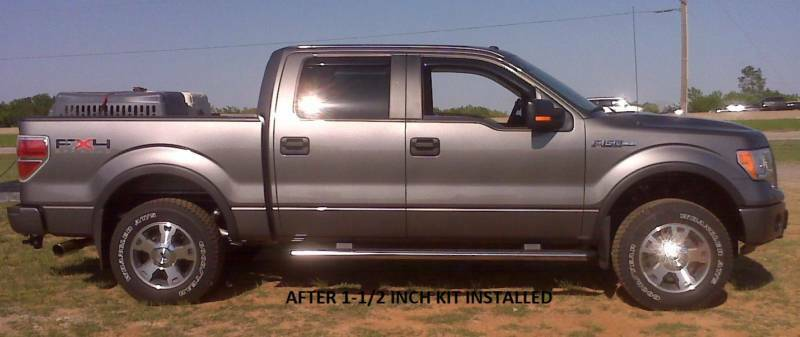 2014 F150 Leveling Kit >> Auto Spring Pc 2014 2019 Ford F 150 1 1 2 Inch Lift Leveling Kit Ebay