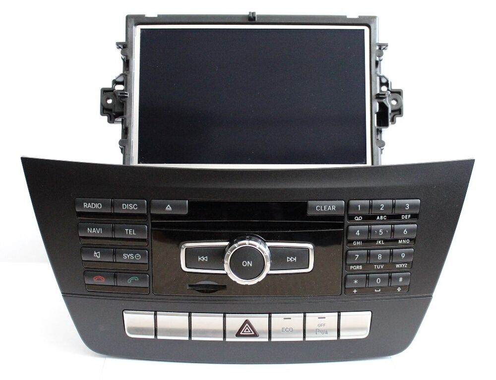 mercedes benz w204 s204 c class ntg4 5 oem navigation. Black Bedroom Furniture Sets. Home Design Ideas
