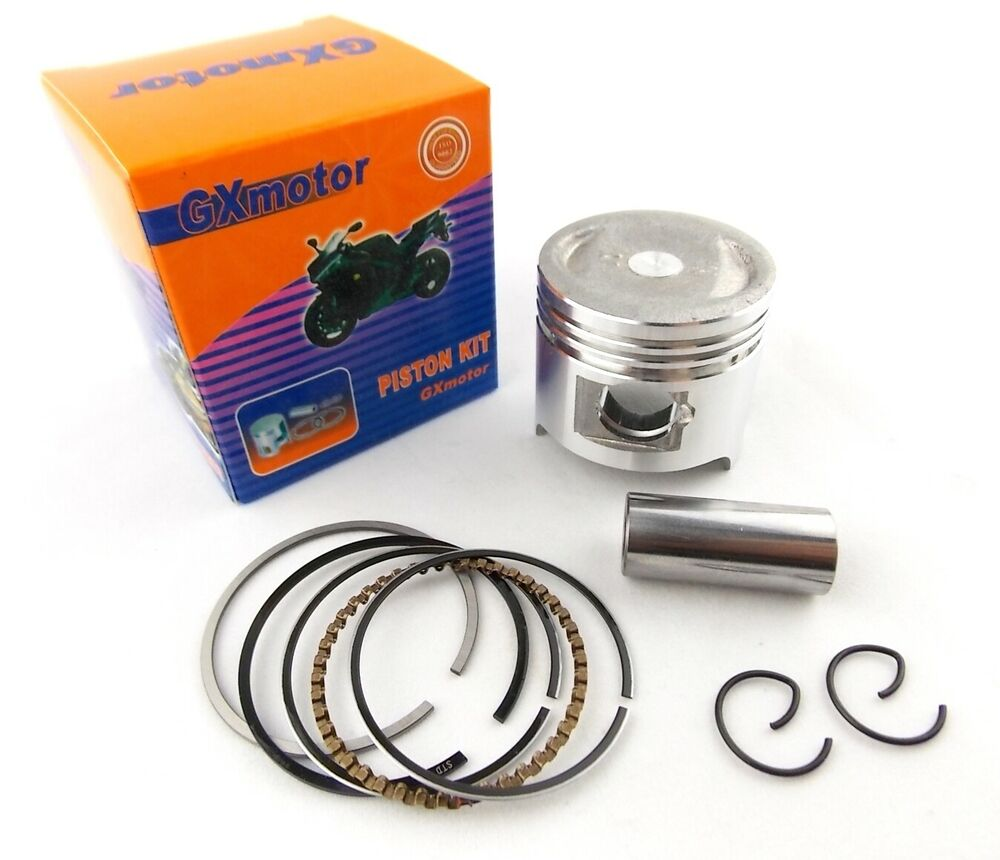 Motorcycle Engine Parts 50 Cylinder Bore Size 48 5mm: HONDA Z50/R 88-99 STD GXMOTOR PISTON KIT 39mm RINGS PIN
