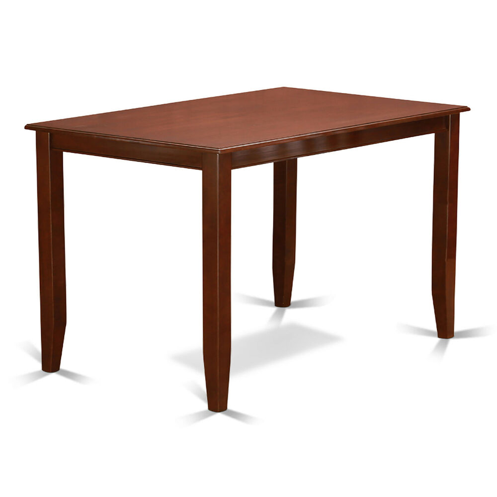 30x48 BUCKLAND COUNTER HEIGHT KITCHEN TABLE WITHOUT CHAIR IN MAHOGANY F