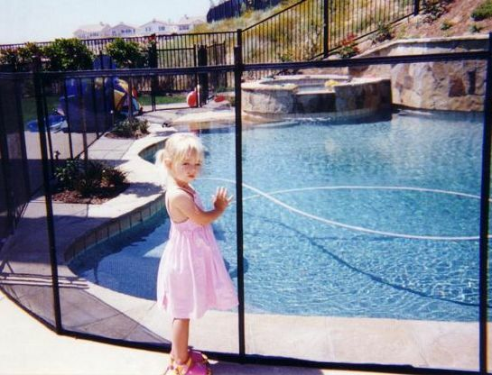 Removable Mesh Pool Fence Free Shipping Ebay